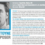Jeff Toyne claims spot on PLAYBACK MAGAZINE'S 2011 TEN TO WATCH