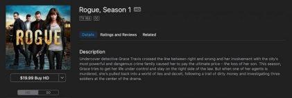 Rogue TV Season 1 on iTunes
